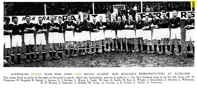1936 tour or new zealand - Three match tour Australia won all three.Scoring 21 goals,Conceding only 2.Australia also played againstSydney Metro, Auckland, Wellington, Canterbury, Otago, Westland, Taranaki, South Auckland, Waganui, Wairarapa