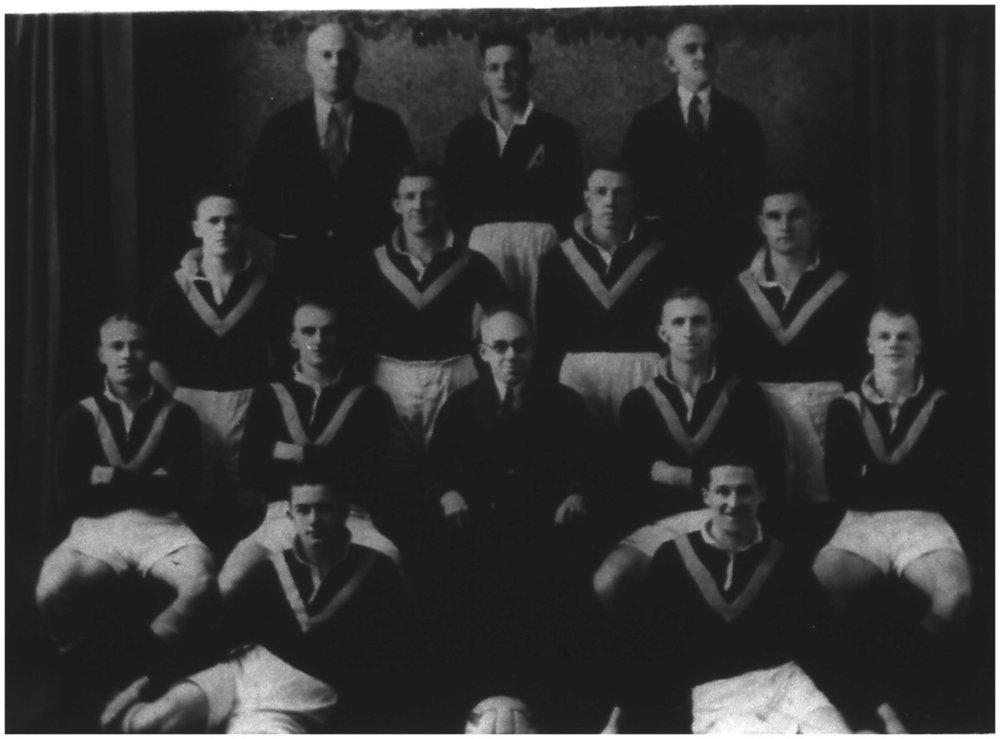 Australian team photo -1937 - An England