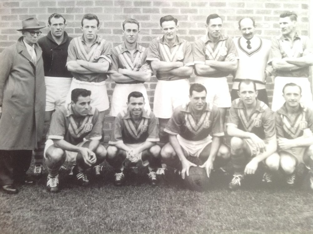 Australia - 1957 - In 1957 the Australian side played against three visiting club sides. The three clubs were FK Austria (Austria), Ferencvaros (Hungary) and Eastern Athletic (Hong Kong). The FK Austria touring squad contained Leo Baumgartner, Walter Tamandl, Karl Jaros and Andy Sagi whose improper transfer to Sydney clubs in 1958 ultimately led to Australias suspension from FIFA.