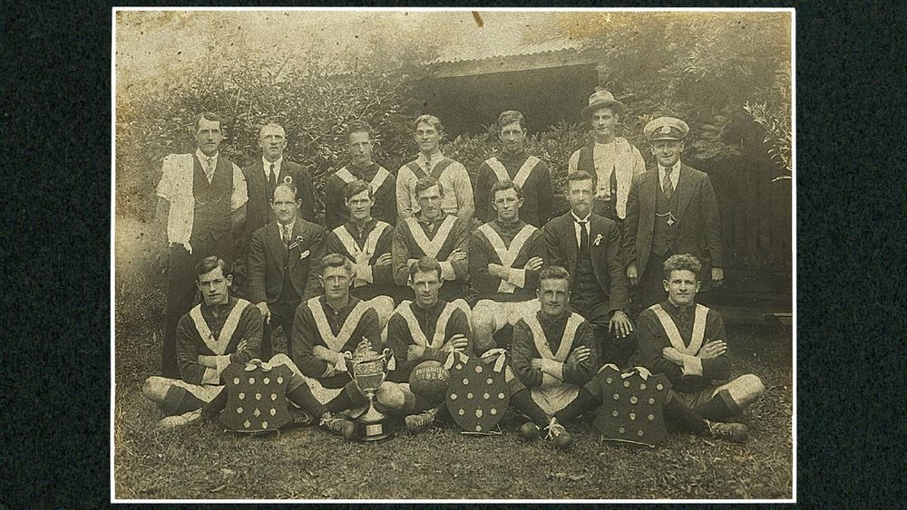 fernhill fc.1926 - (Wollongong City Library)