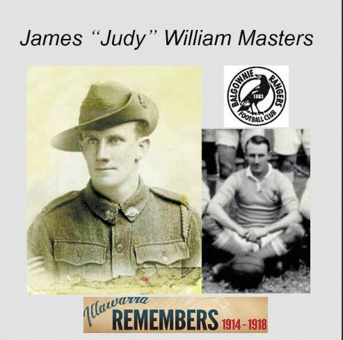 "James ""Judy"" William Masters"