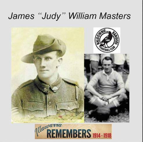 "James ""Judy"" William Masters"
