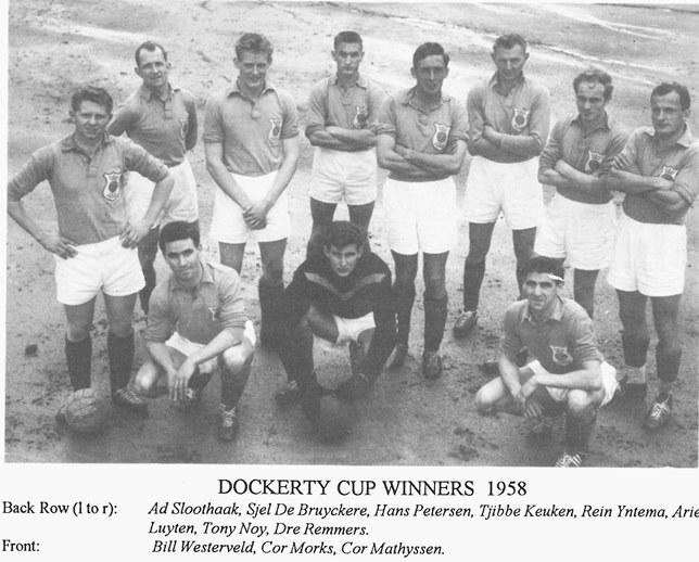Wilhelmina DSC – Dockerty Cup Winners 1958 - (http://www.shootfarken.com.au)