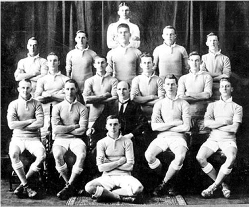 1923-NSW - J. BoyleH. Spurway, J. Muir, J. Cram, D. Rees, T. OliverW. Johnston, H. Winter, D. Ward, J. GilmoreJudy Masters, A. Creighton, W. Cunningham, G. Storey, A. VeigalD. McLaughlan(TROVE)