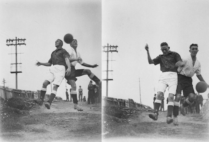 - Sam Hood :Photographic collectionSoccer Sydney Streets1930's(State Library of NSW)