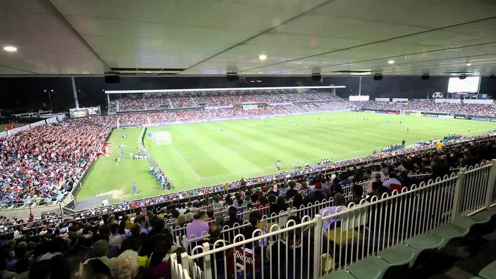 western sydney wanderers fc - Paramatta StadiumCapacity: 21487