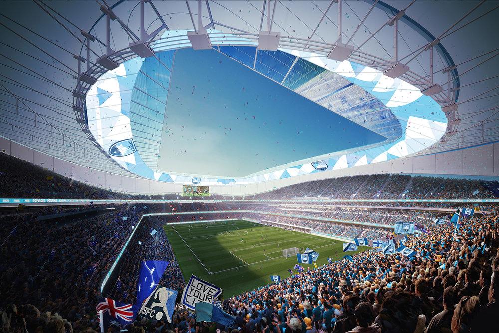sydney fc - New Sydney Football Stadium Open 2022 (planned)
