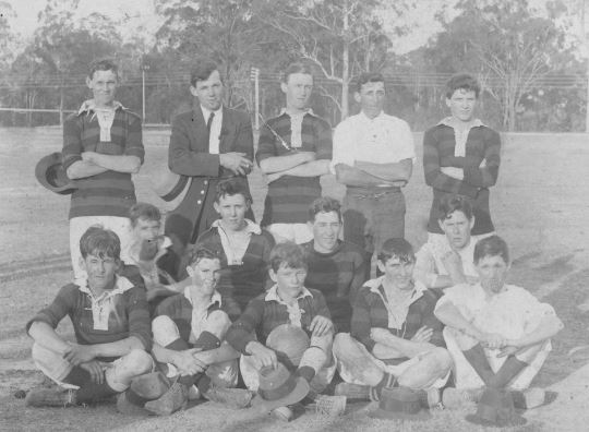 Blackstone Rovers Soccer Club, 1910-1920 - (Ipswich Libraries)