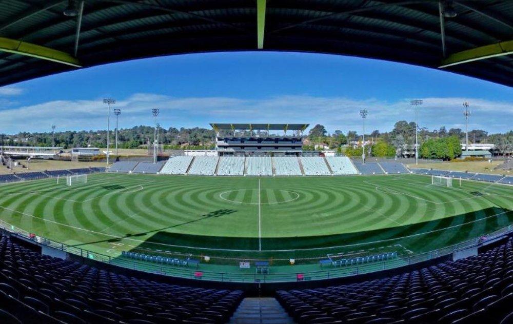 South West Sydney FC - Campbelltown Sports StadiumCapacity 20000Enter A-League 20/21 season