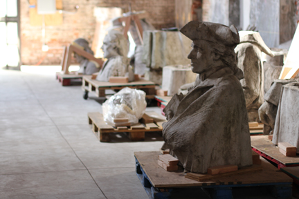 2016 Calder Statues, Alexander Stirling Calder, Presbyterian Historical Society,<strong>Philadelphia, PA</strong>