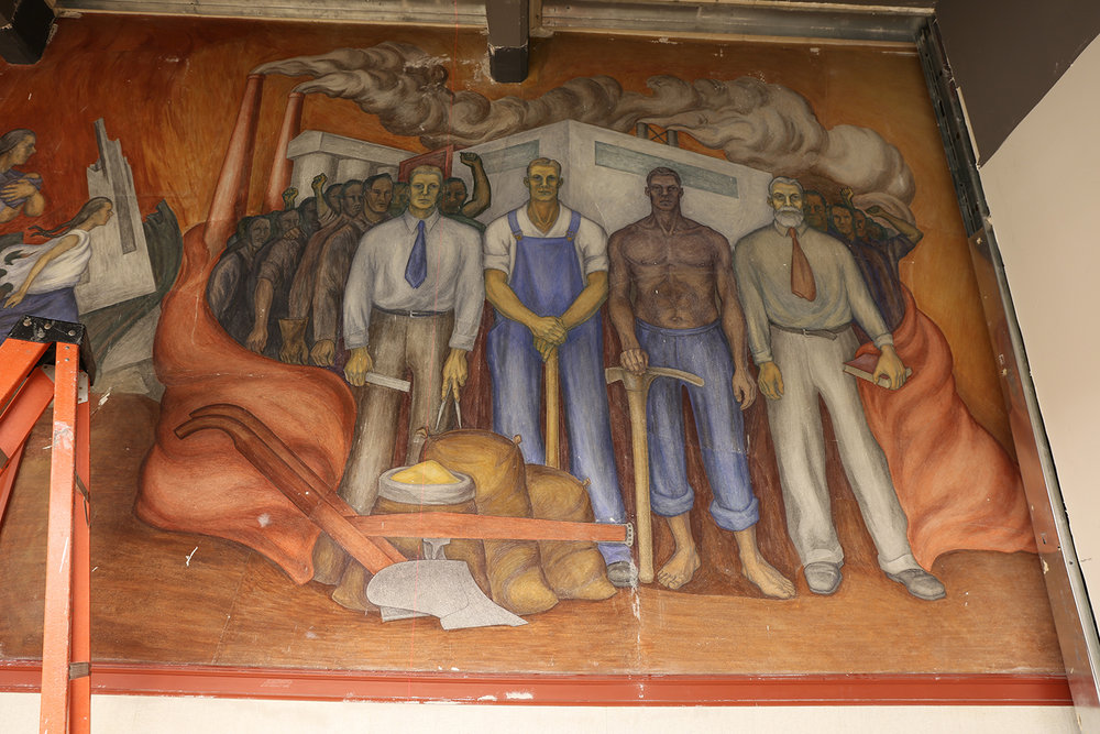 Egleson Murals<strong>Swarthmore College, Swarthmore, PA</strong>