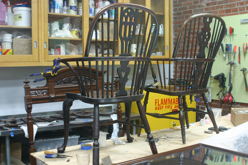 Windsor Chairs<strong>Glencairn Museum, Bryn Athyn, PA</strong>