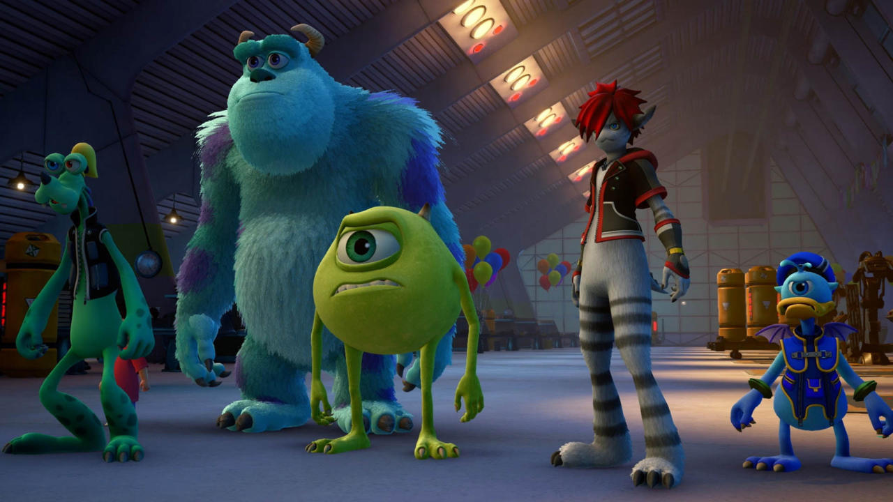 Kingdom Hearts 3 Monsters Inc