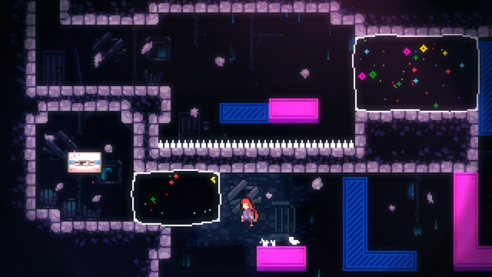 Celeste's B-Sides are not only well-hidden challenges to find, but also some of the hardest parts of the whole game once you unlock them