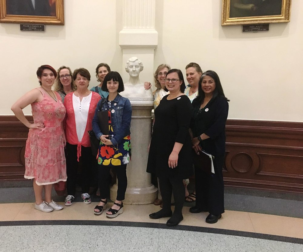 "Legislative Efforts - Because our local coalition home base is the Capitol City of Texas, we have the unique opportunity to be the ""boots on the ground"" during legislative efforts for the statewide Texas Breastfeeding Coalition . As we approach our legislative session, we will keep our coalition updated on efforts and ways to show support."