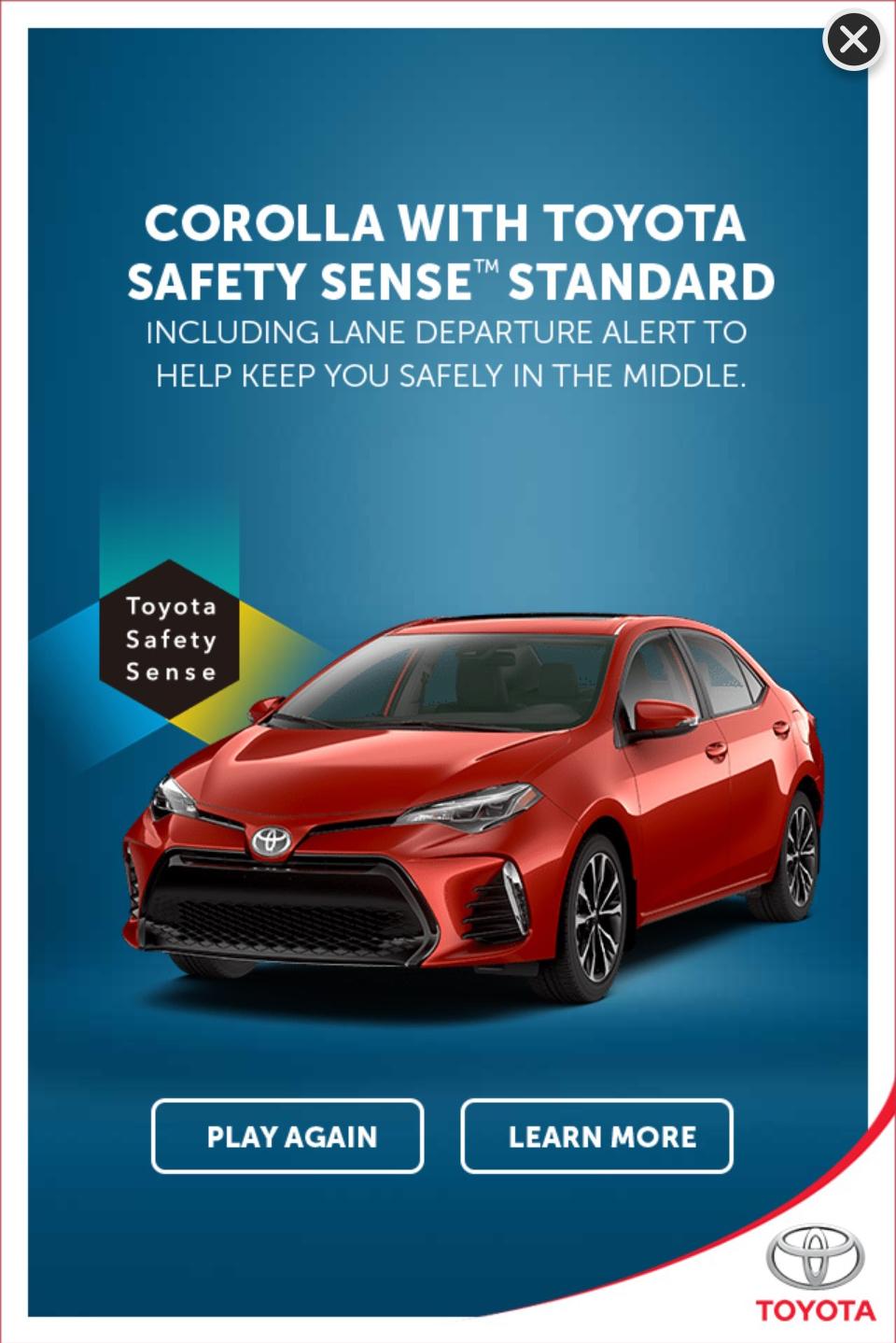 Toyota corolla -