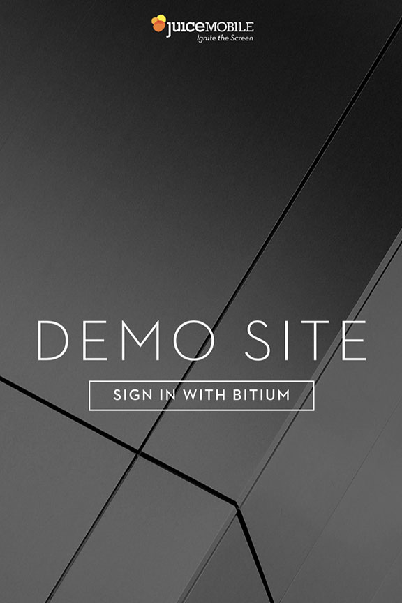 Demosite Redesign -