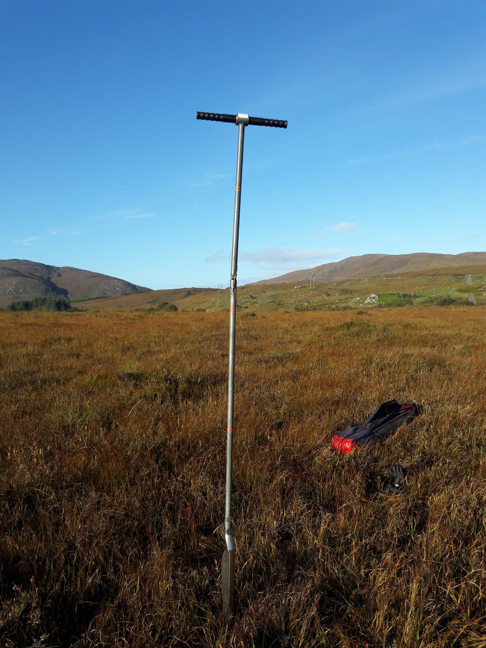 Pristine blanket bog, Co. Donegal. Photo: David Wilson