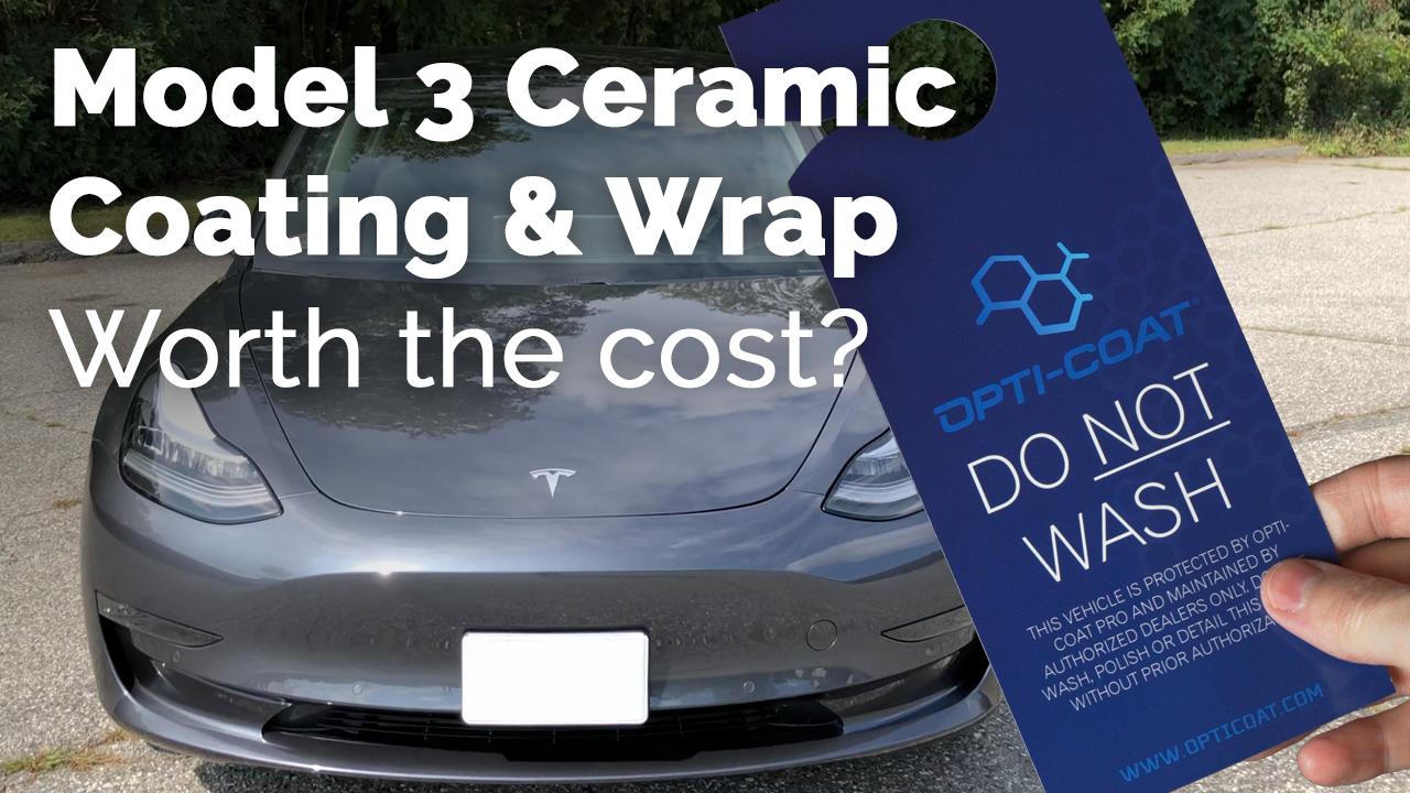 Tesla Model 3 Ceramic Coating Cost — Undecided with Matt Ferrell