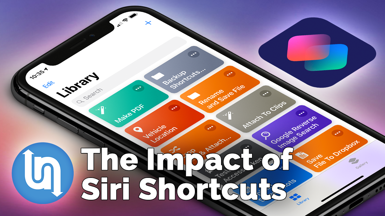 Apple Siri Shortcuts - Why They Matter — Undecided with Matt Ferrell