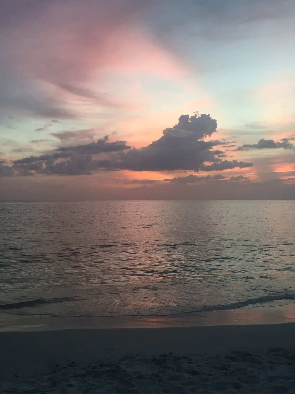 Natures colors - Sunset over the Gulf