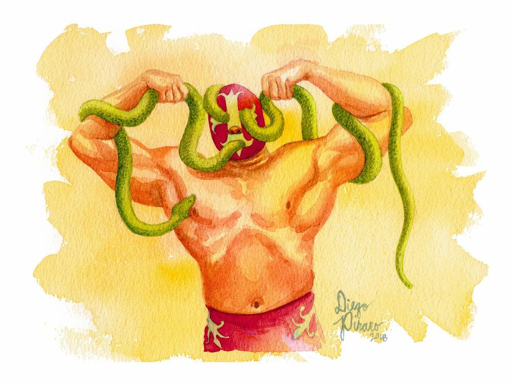 Luchador de Serpientes