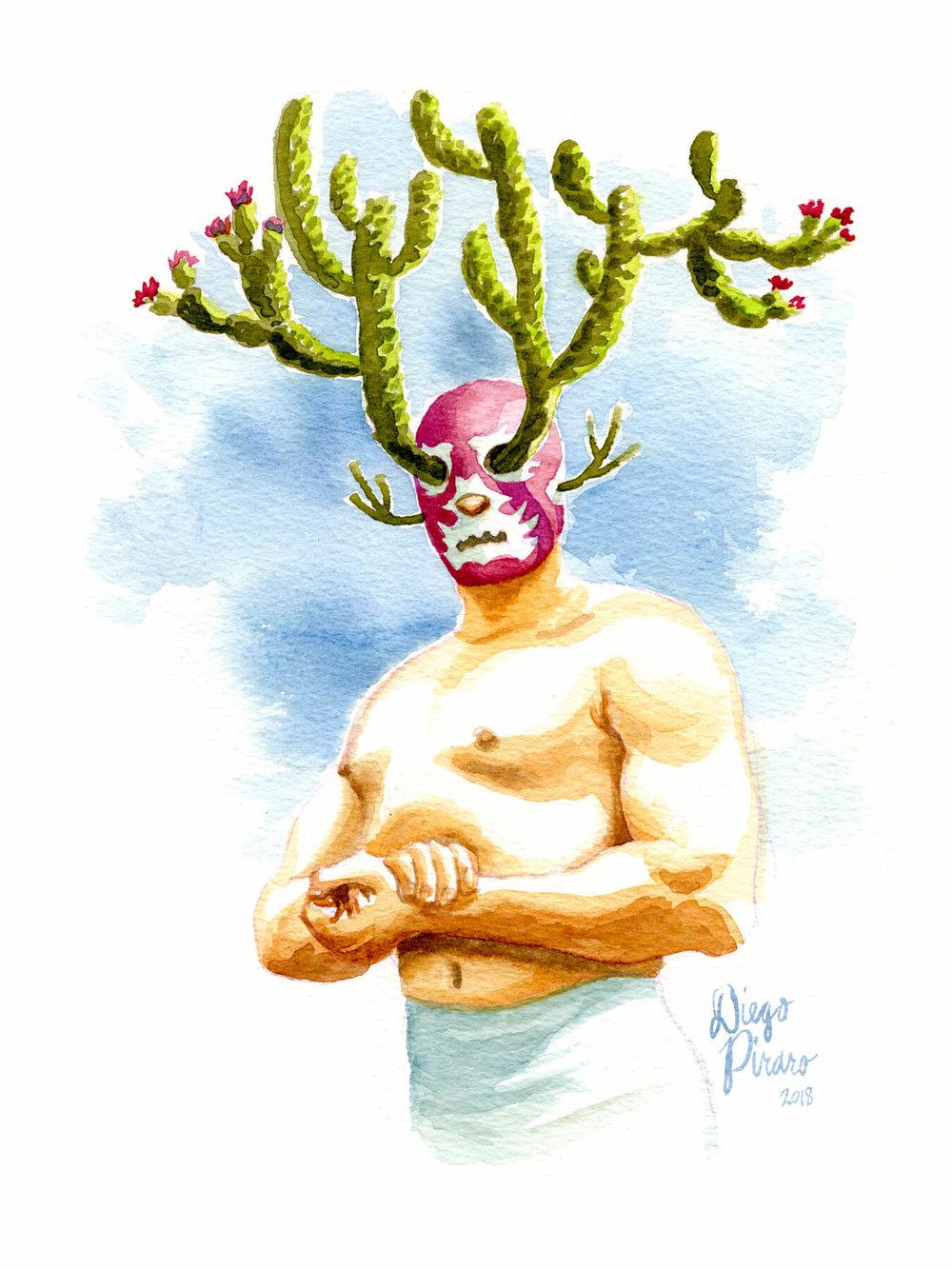 Luchador en Flor