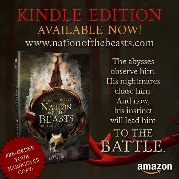 Nation... the day is here. I'm very proud to announce that finally, the kindle edition of my book, #NationOfTheBeasts is out! (Link in bio)  I have no words to express how excited and scared I am for this! It's been a long wait since I released the self-published edition in spanish last year, and I'm about to cry. Remember: the hardcover pre-orders are still open! Order yours here: www.nationofthebeasts.com I will appreciate with all my heart if you spread the news. Thank you so much for your support! AND WELCOME TO THE NATION! #book #kindle #kindleunlimited #fantasy #darkfantasy #youngadult #magic #neworleans