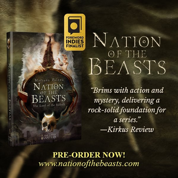 HERE ARE THE BIG NEWS: I'm truly happy to announce that #NationOfTheBeasts is FINALIST in the @ForewordReviews 2018 Awards! 🦌 A HOWL FOR OUR NATION! 🐺Thank you very much, dear wanderers, for your amazing support! You can pre-order your hardcover edition un nationofthebeasts.com  #fantasy #books #indiebook #magic #neworleans