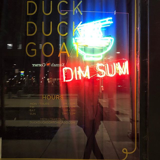Already planning my next meal... #duckduckgoat #chicago #chicagofood ##fultonmarket #scallionpancakesforever #stephanieizzardisagenius
