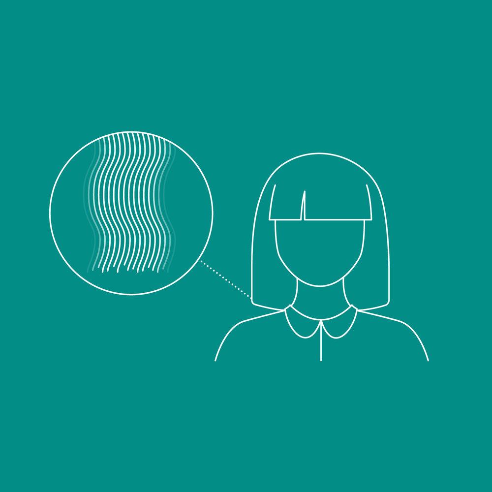 Dyson Hair Science – How fast does hair grow animation calendar