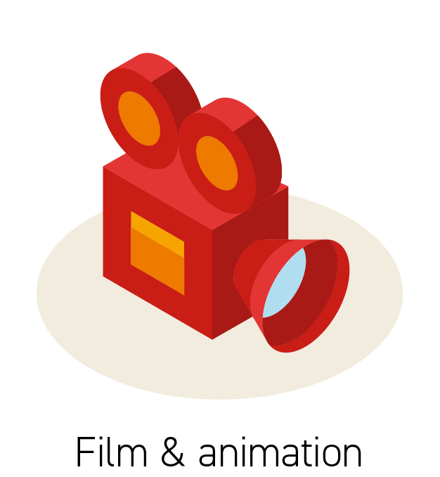 Film & Animation Icon