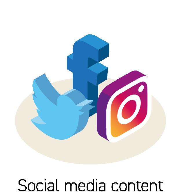 Social Media Content Icon