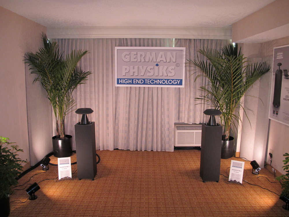 Unlimited loudspeaker | Rocky Mountain Audio Fest 2012, Denver, USA