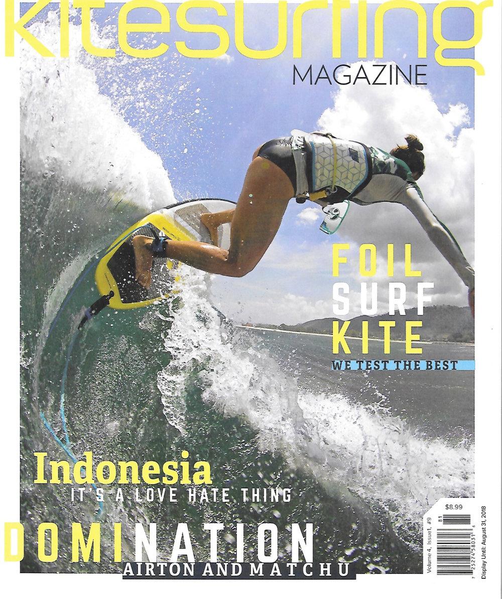 Kitesurfing Magazine Cover