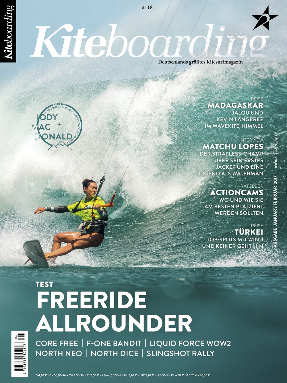 Kiteboarding Magazine Cover