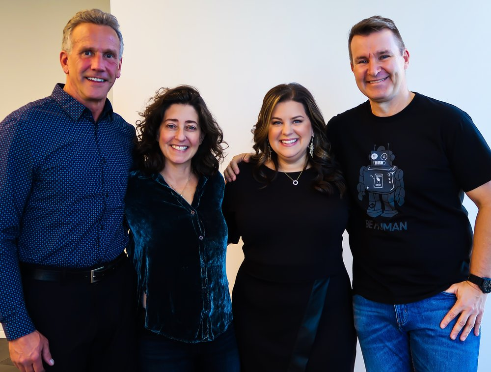 (Left to Right: Mike, Claude, Jill, Mark at the first ever Humans First Club event in NYC)  https://youtu.be/J9qaT3Cwk6g