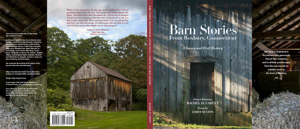 Barn Stories from Roxbury, CT cover design