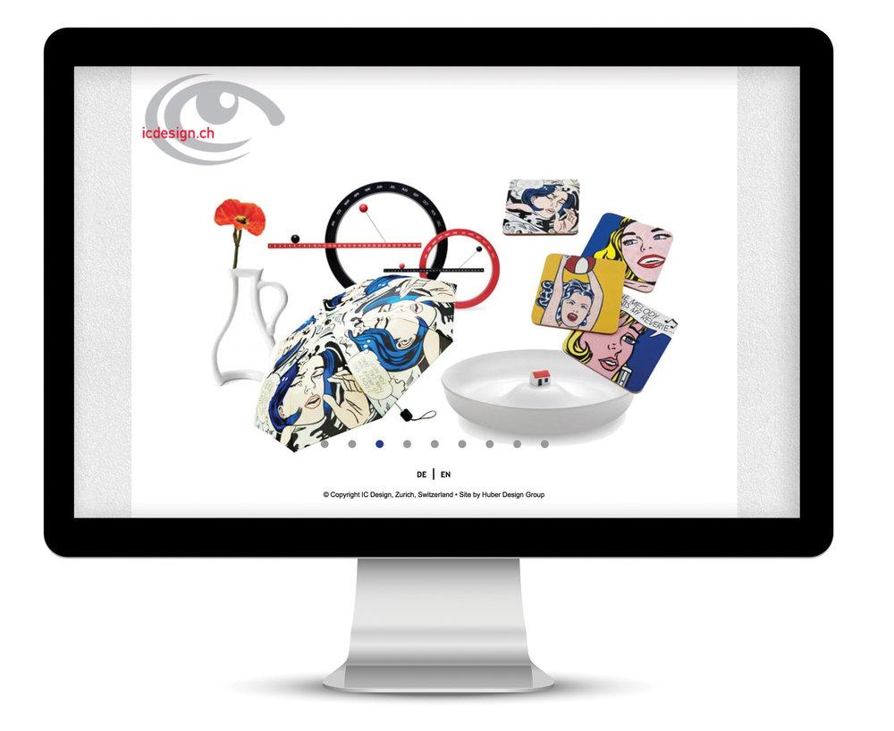 IC Design Website homepage