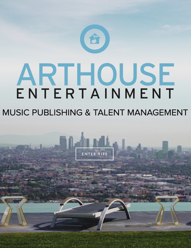 Arthouse Entertainment  Website