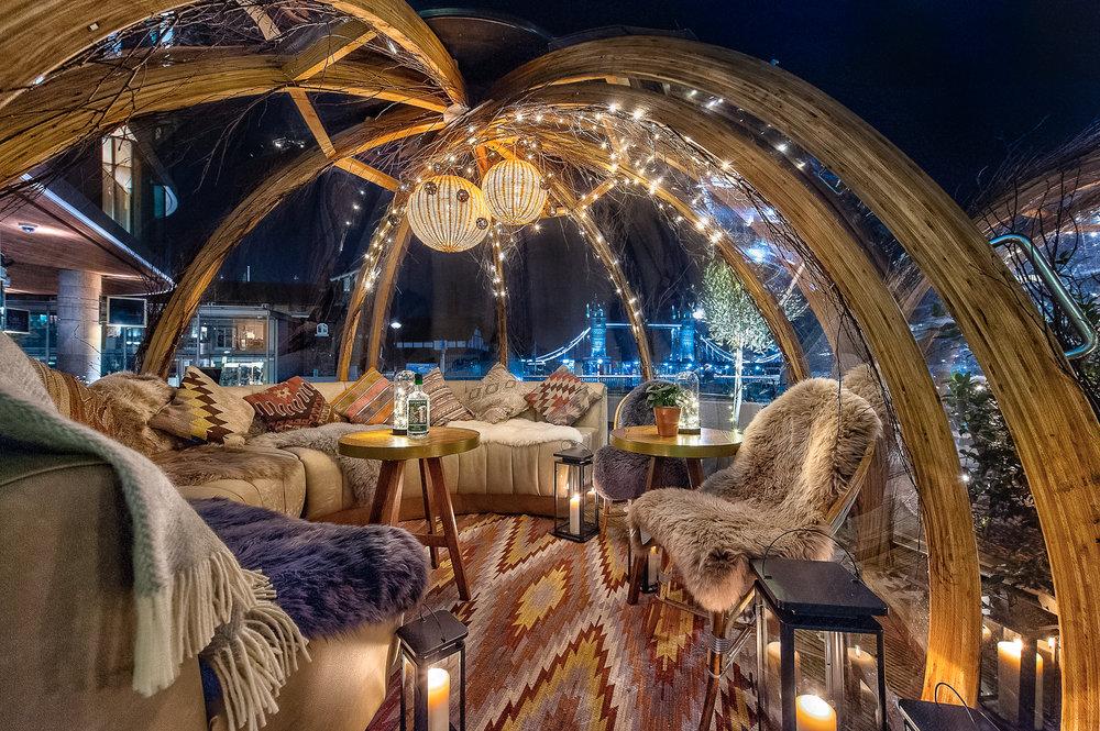 Design Ay Illuminate : Coppa club bohemian winter u to interior design hospitality and