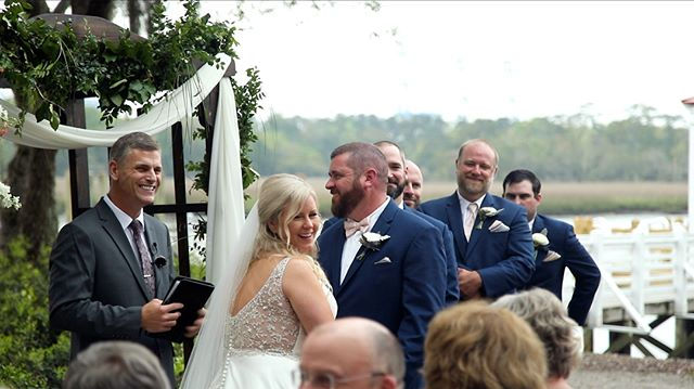 Editing Mazie & Sean's wedding film today and you can tell this couple is just. so. much. fun.  #funwedding #happycouple #awesomewedding #keepitfun #screengrab #shotoncanon #canonusa #videoediting #weddingvideography #charlestonwedding #ioncreekclub #canonc200 #canon5dmarkiv #lowcountryweddings #mountpleasantsc #chswedding #weddingfilmmakers #weddingfilmmaker #charlestonvideographer #videomaker