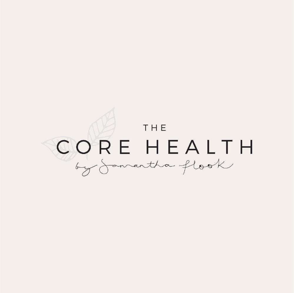 THE CORE HEALTH BY SAMANTHA FLOOK   Website Design