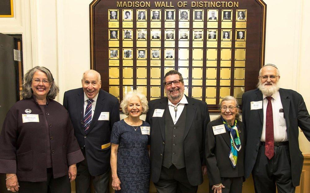 2016 Honorees   Wendy Trozzi Libby, Larry Hite, Patricia Bruder Debrovner, Arthur Schwartz, Lucille Weckstein Plotz, Barry Simon