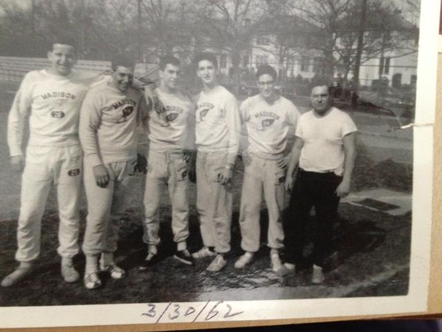 Track Team 1962