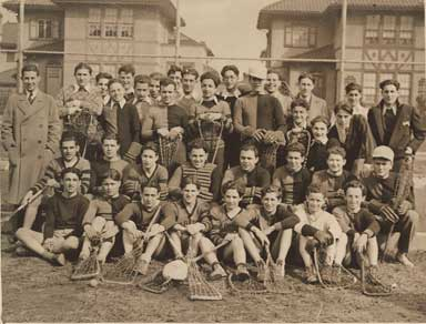 Madison Lacrosse Team 1930