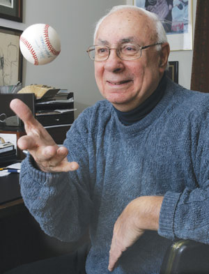 Maury Allen '49, Sports Journalist