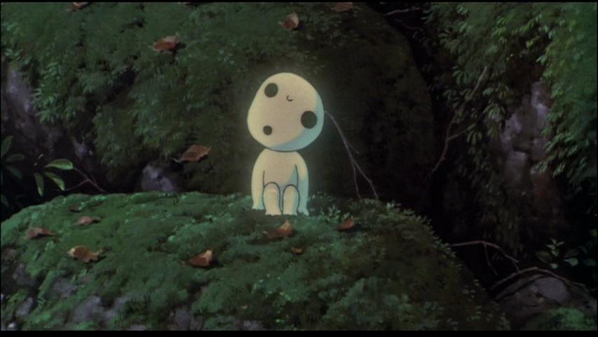 Still from Miyazaki Hayao's film  Princess Mononoke