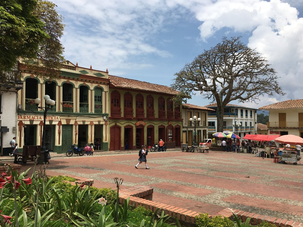 Buildings in Colombia