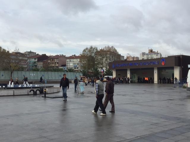 Aksaray-Metro-station-Istanbul-Turkey
